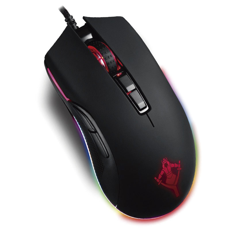 MOUSE GAMER YEYIAN YMT-V70 YMT-M2000 CLAYMORE2000 OPT/RGB/7 BTNS/12000